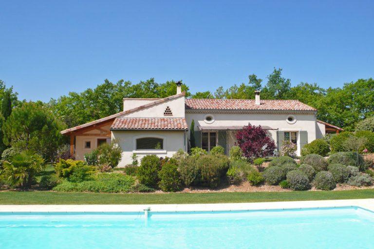 Photographie d'une maison de vacances à louer dans le sud de la France