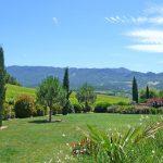 Photographie d'un jardin paysagé.