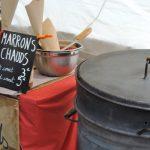 Photographie de marrons chauds au marché de Saou en Drôme provençale
