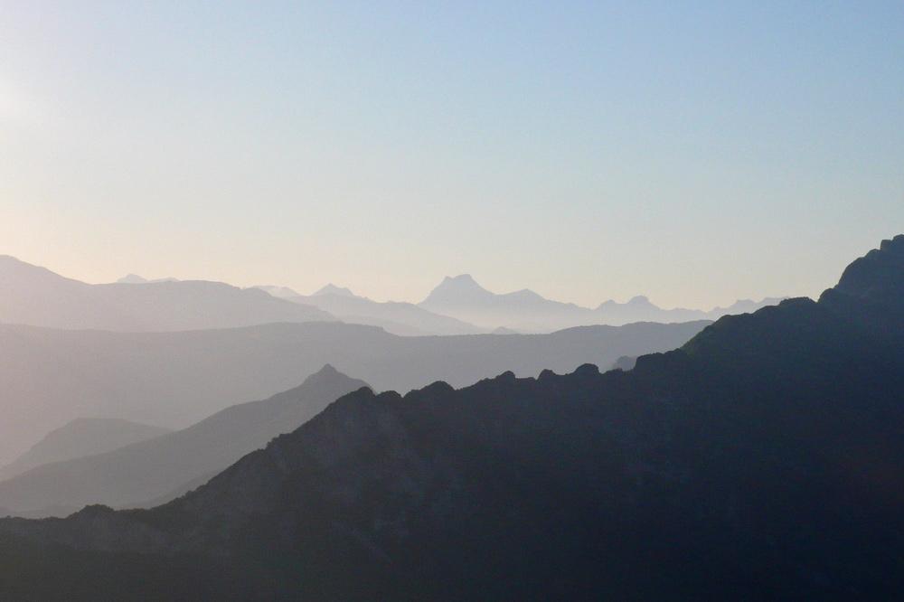 Photographie de montagnes du Vercors au plateau d'Ambel