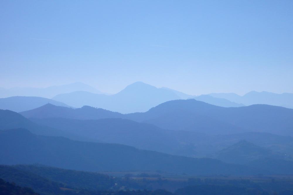 Photographie de montagnes du Vercors à Gigors