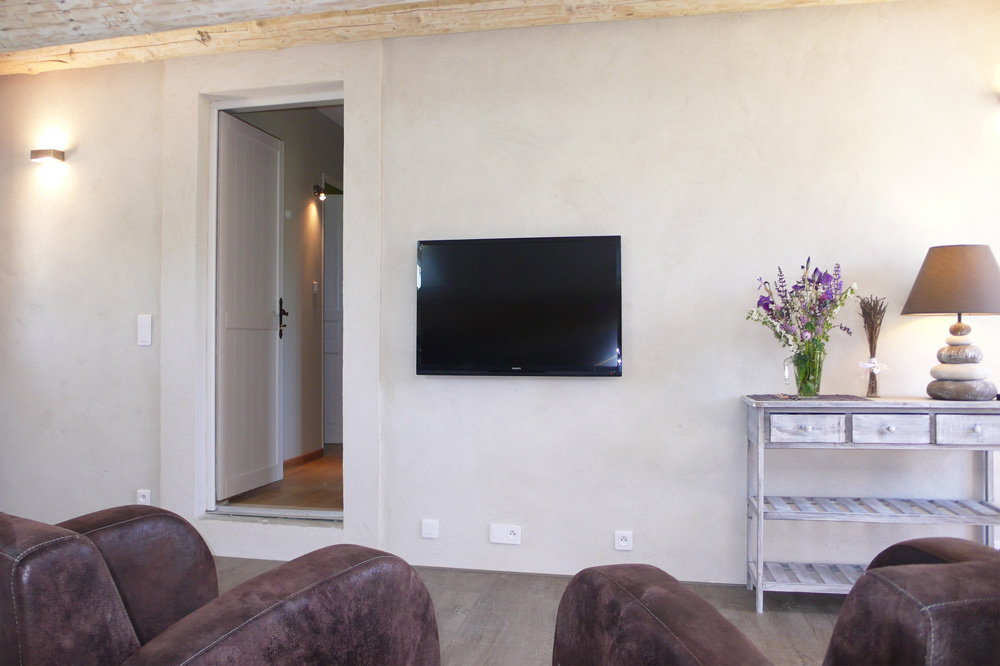 Photo d'un intérieur typique d'une maison de type provençal