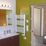 Photographie d'une salle de bain d'un gîte 3 étoiles à Mirabel