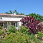 Photographie d'une maison de vacances dans le sud de la France