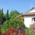 Photographie d'un jardin dans le sud de la France