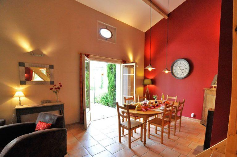 Photographie du séjour d'un hébergement touristique dans la Drôme