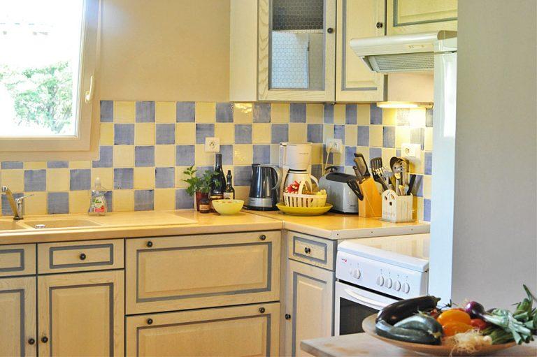 Photographie d'une cuisine de style provençal