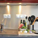 Photographie de la cuisine d'un gîte à louer entre Valence et Die