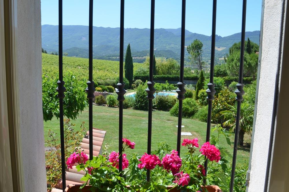 Photo d'un paysage de la Vallée de la Drôme