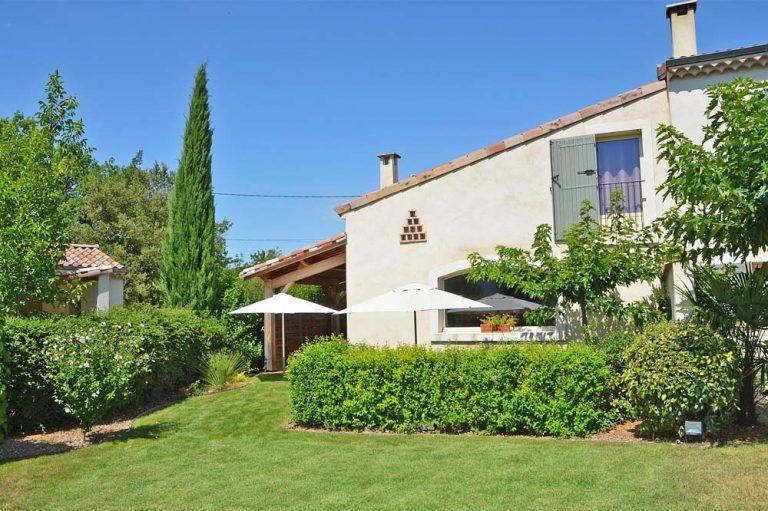 Photographie d'un hébergement touristique dans la Drôme