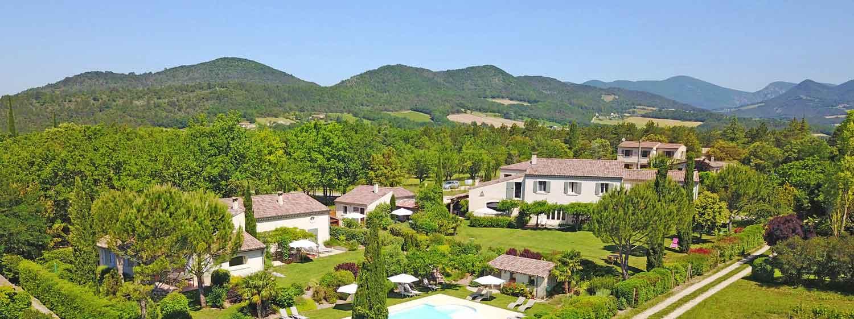 Photo aérienne du Domaine les Cerisiers